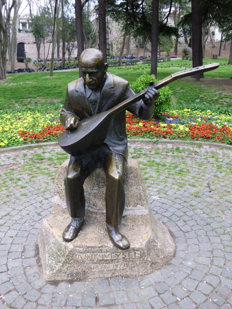 Alevitischer Saz-Musiker Asik Veysel, Istanbul