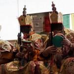 Abschlusszeremonie tibetischer Mönche